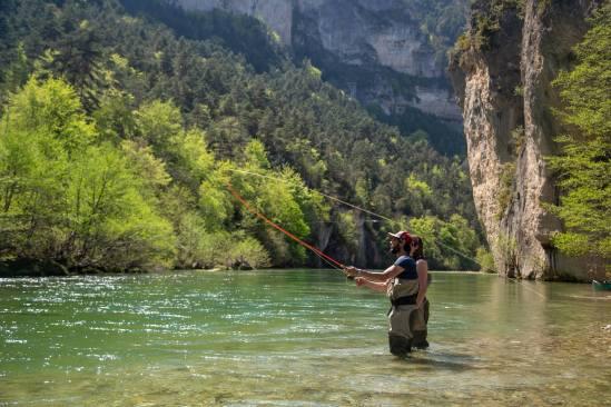 Tarn flyfishing